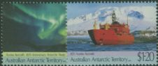 AAT SG88-9 30th Anniversary of Antarctic Treaty and Maiden Voyage of Aurora Australis set of 2